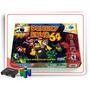 N64 Caixa Donkey Kong 64 Com Berço Nintendo 64