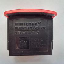 N-64: Expansor De Memória 4mb Original Nintendo + Garantia!