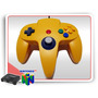 N64 Controle Nintendo 64 Cirka Amarelo