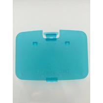 Nintendo 64 : Tampa Ice Blue Azul Transparente Novo