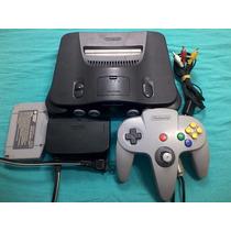 Belo Nintendo 64 + Fonte Original + Controle + Jogo Garantia