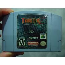 Jogo De N64: Turok 2! Jogo Excelente! Oportunidade Única!