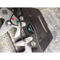 Nintendo 64 Com 1 Controle, Cabo Av, Fonte E 1 Jogo