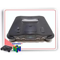 Console N64 Nintendo 64 + Cabo Av + Fonte Bivolt Retrobit