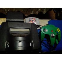 Nintendo 64 1 Controle + 1 Cartucho + 3 Meses De Garantia