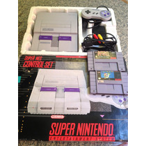 Super Nintendo+cx+mario+controle + Fonte+a/v.pio-agni Games