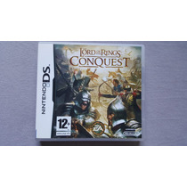 Lord Of The Rings Conquest Nintendo Ds 2ds 3ds Original