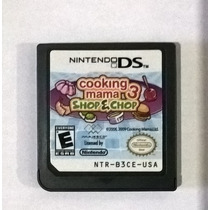 Cooking Mama 3 Shop E Chop - Nintendo Ds
