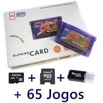 Flashcard Gba Super Card Mini Sd Nintendo Game Boy Advance