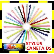 Kit 6 Canetas Stylus Touch Screen Ds Lite Dsi - Cor Rosa