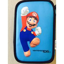 Case Capa Super Mario Nintendo Ds, Dsi, Ds Lite Dsl Colecao