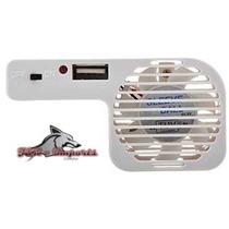 Cooler Fan Resfriador Usb P/ Nintedo Wii + Porta Usb Cod. 83