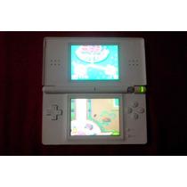 Nintendo Ds Lite Com 4 Jogos - Aceito Trocas