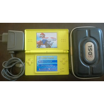Console Portátil Nintendo Ds Lite Fonte Bolsa 2gb Só R$250,0