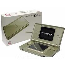 Nintendo Dslite Dourado +400 Jogos 32gb E Emuladores Ds Lite