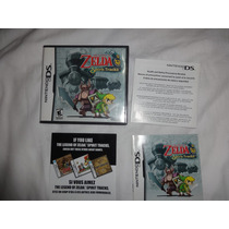 Zelda Spirit Tracks Original Americano Completo.