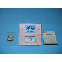 Nintendo Ds Lite + Fonte + Jogos - Funcionando!