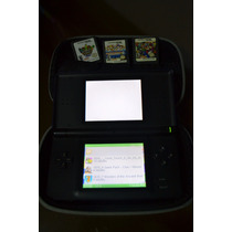 Nintendo Dsi Com 3 Jogos Originais E 1 Emulador
