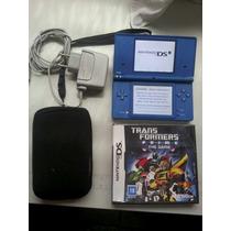 Nintendo Dsi Super Conservado + Jogo Transformers Lacrado