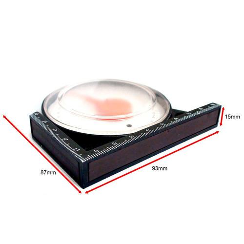 Nível Inclinometro Com Base Magnética P/antena Parabólica