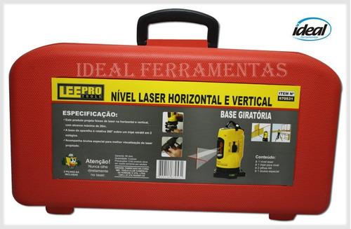 Nível Laser Horizontal E Vertical - Com Tripé E Alcance 20m