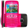 Celular Nokia C3-00 Rosa + Acessórios Originais