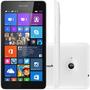Smartphone Nokia Lumia 535 Dual Chip Preto Tela 5.0 Branco