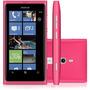 Celular Nokia Lumia 800 - 16gb 3g Tela 3.7 Câm.8mp - Rosa