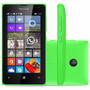 Celular Microsoft Lumia 435 Dual Sim Dtv Verde Webfones