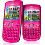 Nokia C3-00 Rosa Usado Desbloqueado
