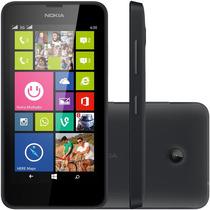 Smartphone Nokia Lumia 630 Ds Dual Chip Quad-core Preto