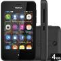 Telefone Celular Asha 501 + Garantia Nokia 2 Chips Preto