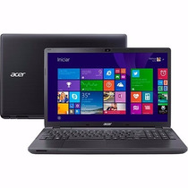 Notebook Acer E5-571-33zu Intel I3 4gb Ram 500gb Hd Dvd 15.6