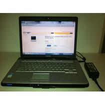 Notebook Toshiba Satellite A200 1ab Funcionando 2gb Ram 80gb
