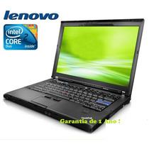 Notebook Lenovo T400 - Core 2 Duo Ddr3 + Garantia