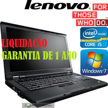 Notebook Lenovo T410 - Core I5+adaptador Display Port/hdmi