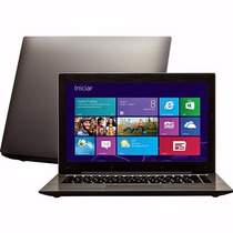 Notebook Ultrabook Win Intel Dual Core Com Maleta Brinde