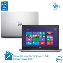 Notebook Dell Série 5000 I7, 1tb, 8gb,tela 15,6 Touch W8