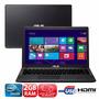 Notebook Asus X451ca-vx050h Intel Dual Core 2gb Ram 320gb Hd