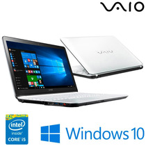 Notebook Vaio Fit 15f - Intel® Core™ I5-5200u, 1tb Hd