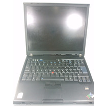 Notebook Ibm T60 - Core Duo T2400 1.83ghz 1gb Ram Windows 7