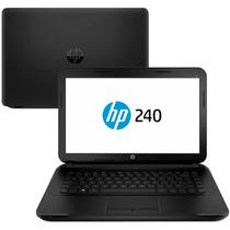 Notebook Hp 240 G3 Tela 14 Core I3, 4gb, 500gb + Mochila Hp