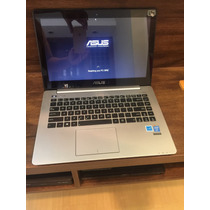 Ultrabook Asus S Touch Core I7 4ªger Ssd 256gb 8gb Ram Top!