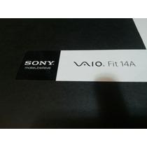 Sony Vaio Fit 14 A -sem Uso - Completo Campina Grande Apenas