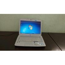 Notebook Acer Aspire Core2 Duo 3gb; 320gb;tela 15.4 Dvd Hdmi