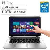 Notebook Hp Intel Quad I7-4710hq 3.5 Ghz 8gb 1tb+8 Ssd Touch