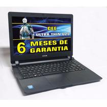Notebook Cce Ultra Thin Slim Dual Core 2gb Hd 500gb Ref.9936