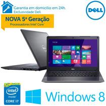 Notebook Ultrafino Dell Vostro Intel® I7, 8gb, 500gb Hd