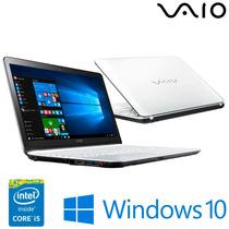 Notebook Vaio Fit 15f - Intel® Core™ I5-5200u, 1tb Hd
