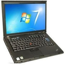 Notebook Lenovo T60 Intel Core Duo 2gb 80gb Windows 7